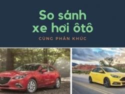 So sánh các dòng xe 2017 cùng phân khúc giá dưới 800 triệu