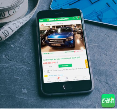 Xe ôtô Ford Ranger- sản phẩm đang bán trên mạng xã hội MuaBanNhanh