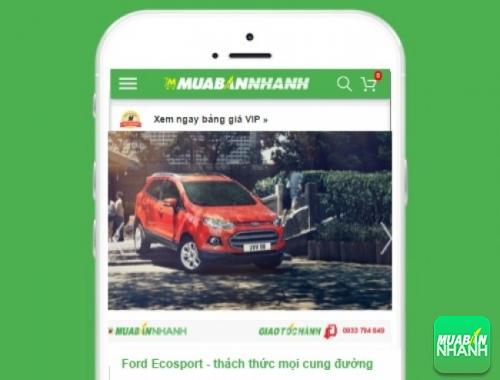 Xe ôtô Ford EcoSport - sản phẩm đang bán trên mạng xã hội MuaBanNhanh