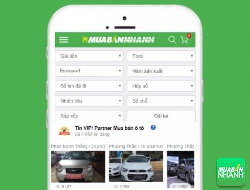 Tìm mua xe Ford EcoSport hiệu quả trên Mạng xã hội MuaBanNhanh