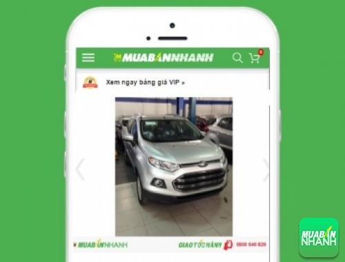 Xe ôtô Ford EcoSport Trend 1.5 MT - sản phẩm đang bán trên mạng xã hội MuaBanNhanh