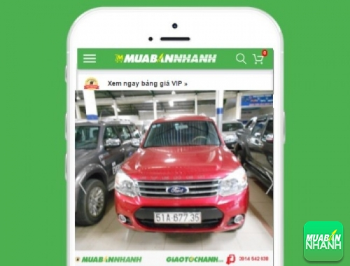 Xe ôtô Ford Everest - sản phẩm đang bán trên mạng xã hội MuaBanNhanh