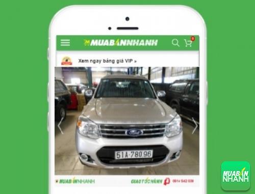Xe ôtô Ford Everest 2.2 Trend AT - sản phẩm đang bán trên mạng xã hội MuaBanNhanh