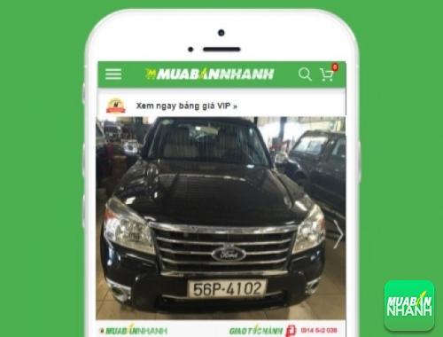 Xe ôtô Ford Everest 2.2 Titanium AT - sản phẩm đang bán trên mạng xã hội MuaBanNhanh