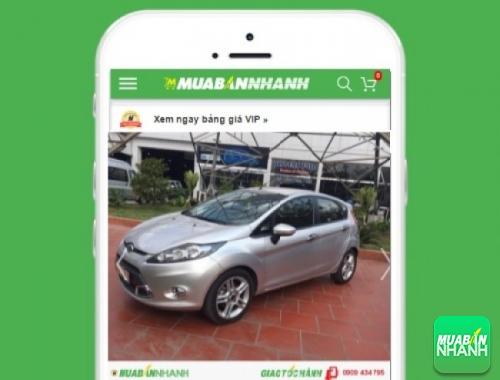 Xe ôtô Ford Fiesta - sản phẩm đang bán trên mạng xã hội MuaBanNhanh