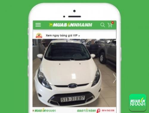 Xe ôtô Ford Fiesta 1.5L Trend AT - sản phẩm đang bán trên mạng xã hội MuaBanNhanh