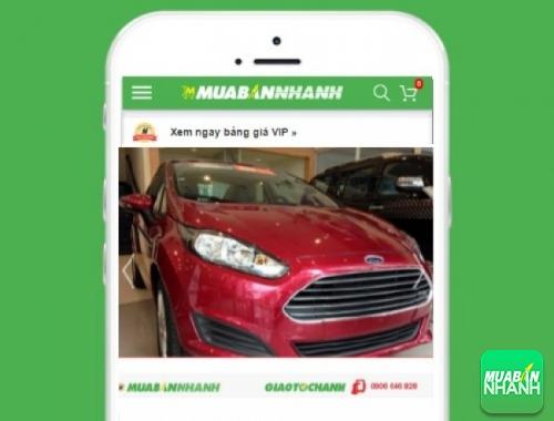 Xe ôtô Ford Fiesta 1.5L Titanium AT - sản phẩm đang bán trên mạng xã hội MuaBanNhanh
