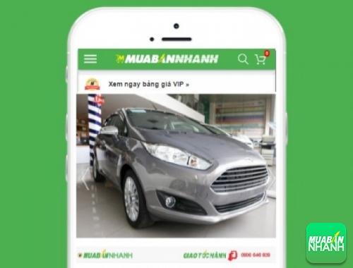 Xe ôtô Ford Fiesta 1.5L Sport AT - sản phẩm đang bán trên mạng xã hội MuaBanNhanh