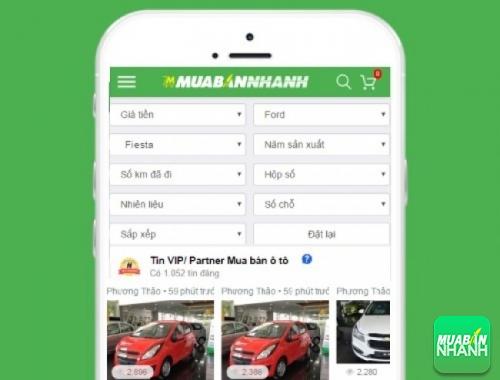 Tìm mua xe Ford Fiesta hiệu quả trên Mạng xã hội MuaBanNhanh