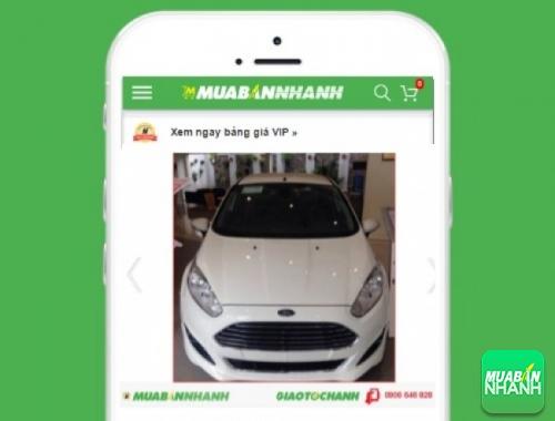 Xe ôtô Ford Fiesta 1.0L Ecoboost AT - sản phẩm đang bán trên mạng xã hội MuaBanNhanh
