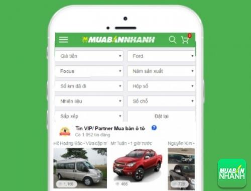 Tìm mua xe Ford Focus hiệu quả trên Mạng xã hội MuaBanNhanh