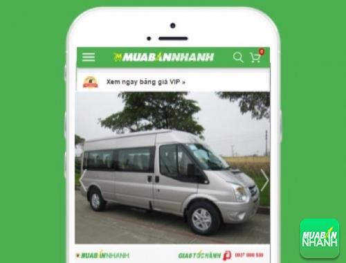 Xe ôtô Ford Transit - sản phẩm đang bán trên mạng xã hội MuaBanNhanh