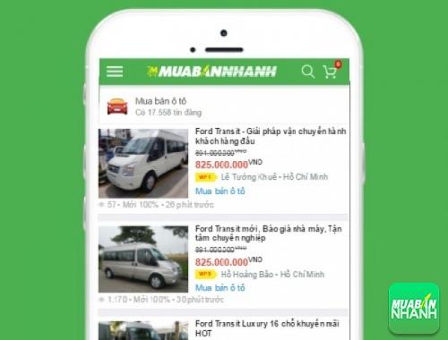 Giá các phiên bản xe Ford Focus trên mạng xã hội MuaBanNhanh