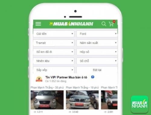 Tìm mua xe Ford Transit hiệu quả trên Mạng xã hội MuaBanNhanh