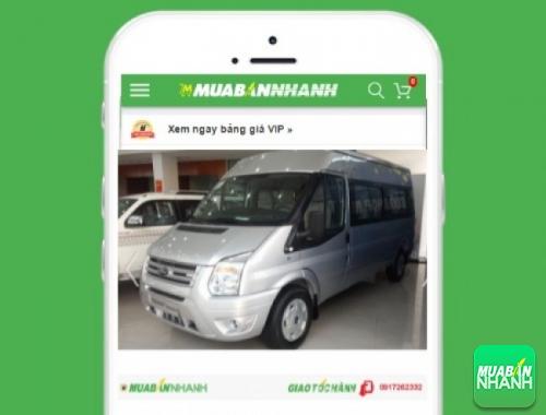 Xe ôtô Ford Transit Medium - sản phẩm đang bán trên mạng xã hội MuaBanNhanh