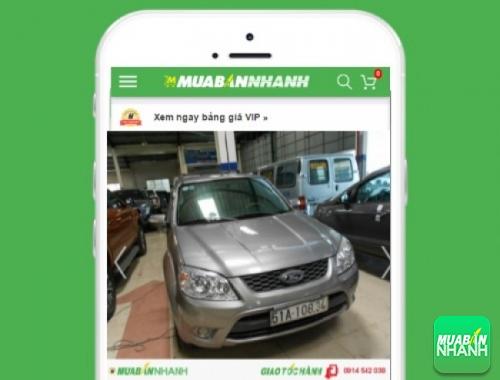 Xe ôtô Ford Escape - sản phẩm đang bán trên mạng xã hội MuaBanNhanh