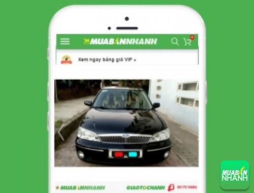 Xe ôtô Ford Laser - sản phẩm đang bán trên mạng xã hội MuaBanNhanh
