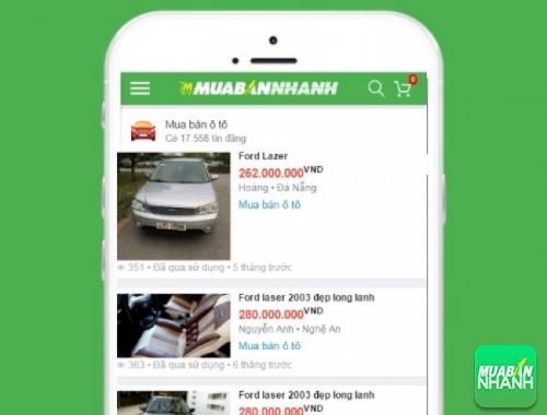 Giá các phiên bản xe Ford Laser trên mạng xã hội MuaBanNhanh