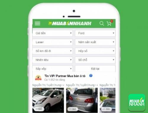 Tìm mua xe Ford Laser hiệu quả trên Mạng xã hội MuaBanNhanh
