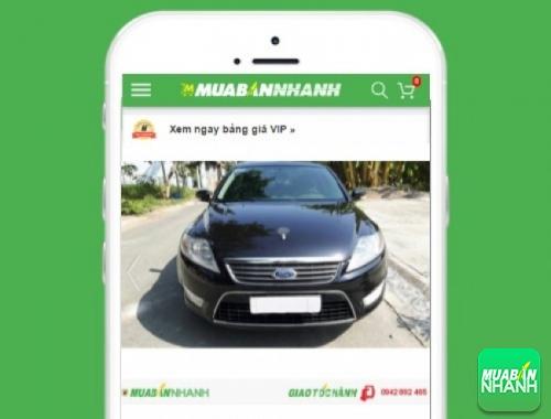 Xe ôtô Ford Mondeo - sản phẩm đang bán trên mạng xã hội MuaBanNhanh