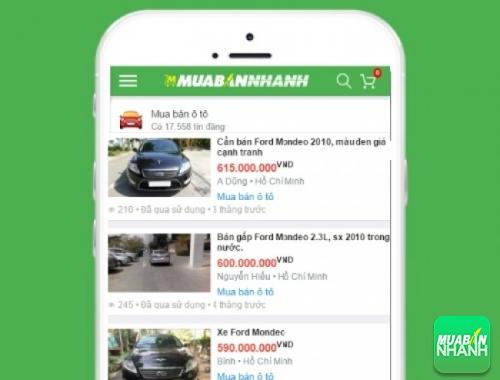 Giá các phiên bản xe Ford Mondeo trên mạng xã hội MuaBanNhanh