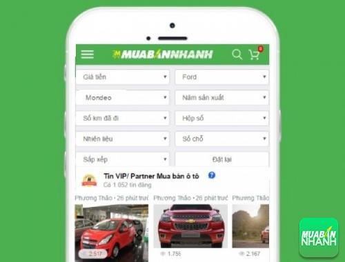 Tìm mua xe Ford Mondeo hiệu quả trên Mạng xã hội MuaBanNhanh