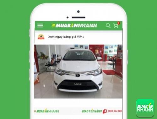 Xe ôtô Toyota - sản phẩm đang bán trên mạng xã hội MuaBanNhanh