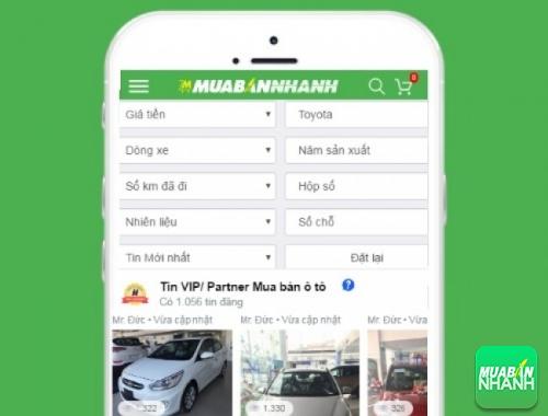 Tìm mua xe Toyota hiệu quả trên Mạng xã hội MuaBanNhanh