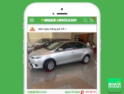 Xe ôtô Toyota Vios - sản phẩm đang bán trên mạng xã hội MuaBanNhanh