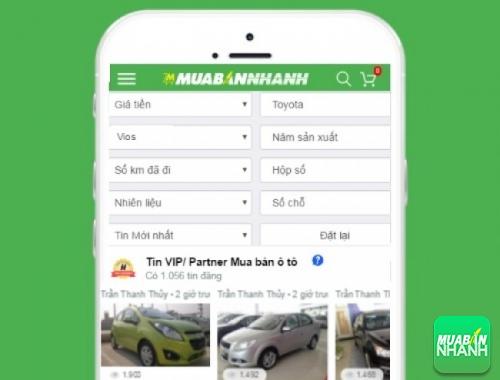 Tìm mua xe Toyota Vios hiệu quả trên Mạng xã hội MuaBanNhanh