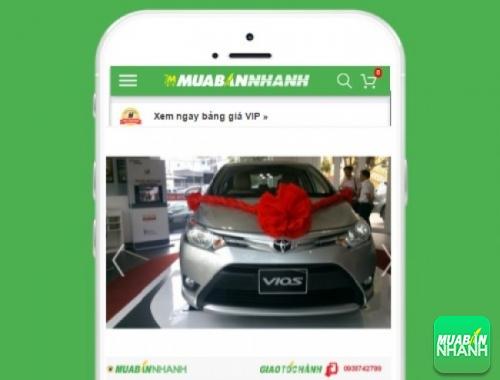 Xe ôtô Toyota Vios 1.5 E MT - sản phẩm đang bán trên mạng xã hội MuaBanNhanh