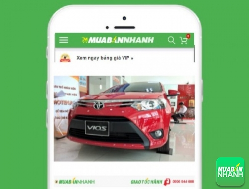 Xe ôtô Toyota Vios 1.3 J MT - sản phẩm đang bán trên mạng xã hội MuaBanNhanh
