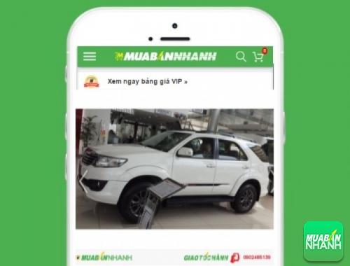 Xe ôtô Toyota Fortuner - sản phẩm đang bán trên mạng xã hội MuaBanNhanh