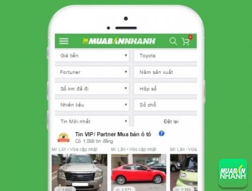 Tìm mua xe Toyota Fortuner hiệu quả trên Mạng xã hội MuaBanNhanh