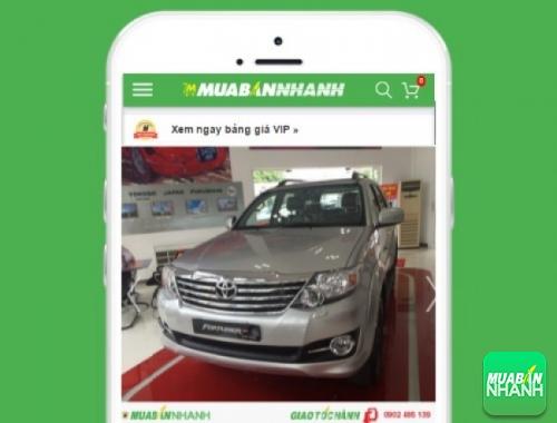 Xe ôtô Toyota Fortuner V 2.7 4x4 - sản phẩm đang bán trên mạng xã hội MuaBanNhanh