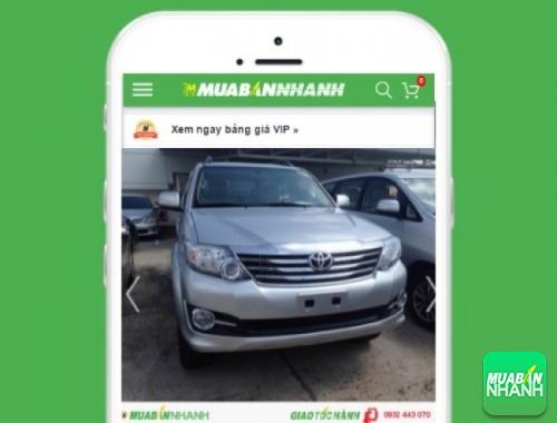 Xe ôtô Toyota Fortuner V 2.7 (4X2) Sportivo - sản phẩm đang bán trên mạng xã hội MuaBanNhanh