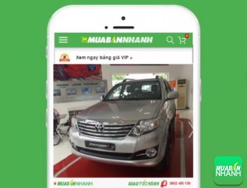 Xe ôtô Toyota Fortuner V 2.7 (4X4) Sportivo - sản phẩm đang bán trên mạng xã hội MuaBanNhanh