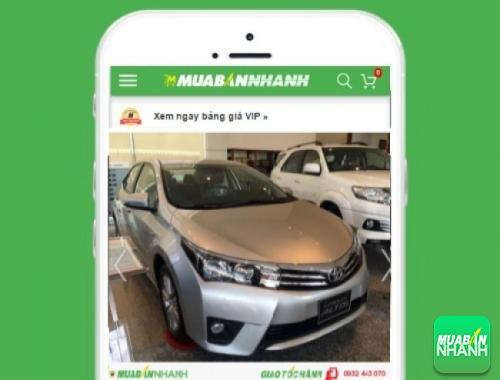 Xe ôtô Toyota Altis - sản phẩm đang bán trên mạng xã hội MuaBanNhanh