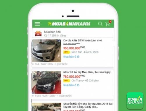 Giá các dòng xe Toyota Altis trên mạng xã hội MuaBanNhanh