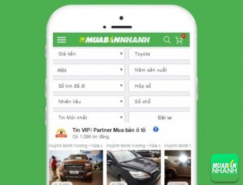 Tìm mua xe Toyota Altis hiệu quả trên Mạng xã hội MuaBanNhanh