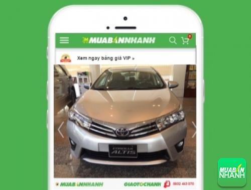 Xe ôtô Toyota Altis 2.0 AT - sản phẩm đang bán trên mạng xã hội MuaBanNhanh