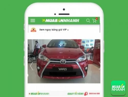 Xe ôtô Toyota Yaris - sản phẩm đang bán trên mạng xã hội MuaBanNhanh