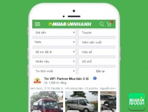 Tìm mua xe Toyota Yaris hiệu quả trên Mạng xã hội MuaBanNhanh