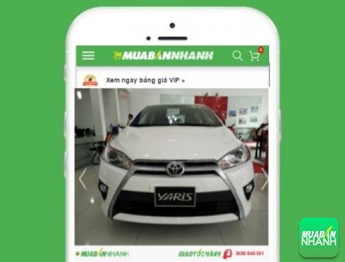 Xe ôtô Toyota Yaris 1.3G - sản phẩm đang bán trên mạng xã hội MuaBanNhanh