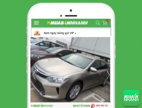 Xe ôtô Toyota Camry - sản phẩm đang bán trên mạng xã hội MuaBanNhanh