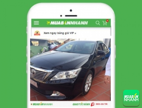 Xe ôtô Toyota Camry 2.5 G - sản phẩm đang bán trên mạng xã hội MuaBanNhanh