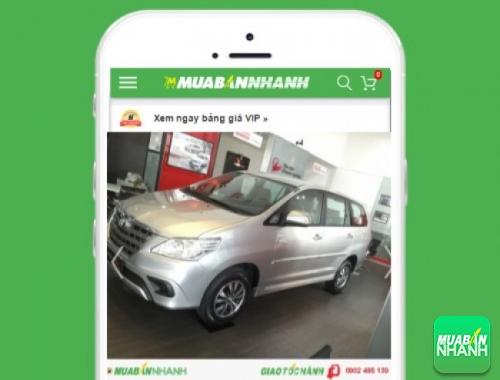 Xe ôtô Toyota Innova - sản phẩm đang bán trên mạng xã hội MuaBanNhanh