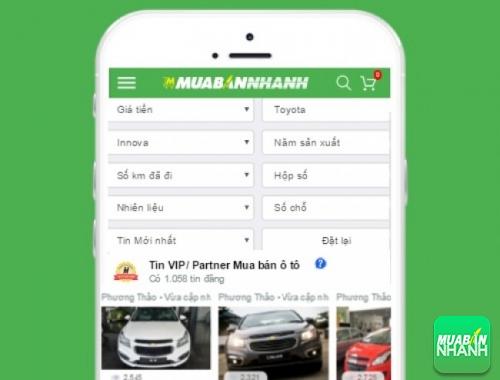 Tìm mua xe Toyota Innova hiệu quả trên Mạng xã hội MuaBanNhanh