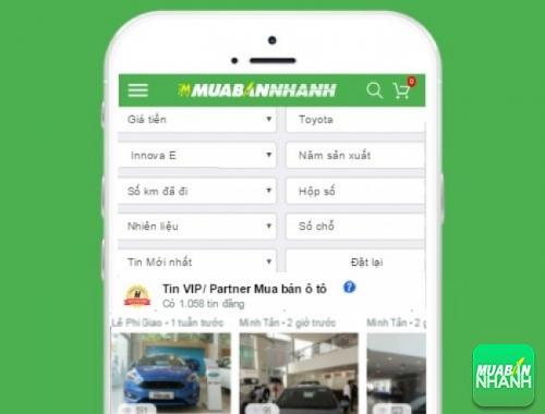 Tìm mua xe Toyota Innova E hiệu quả trên Mạng xã hội MuaBanNhanh