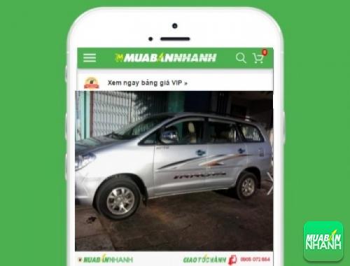 Xe ôtô Toyota Innova J - sản phẩm đang bán trên mạng xã hội MuaBanNhanh